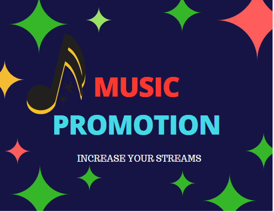 do  music promotion to increase streams