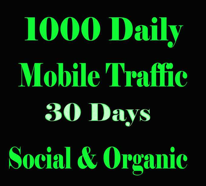 Genrate Mobile Traffic To Your Website