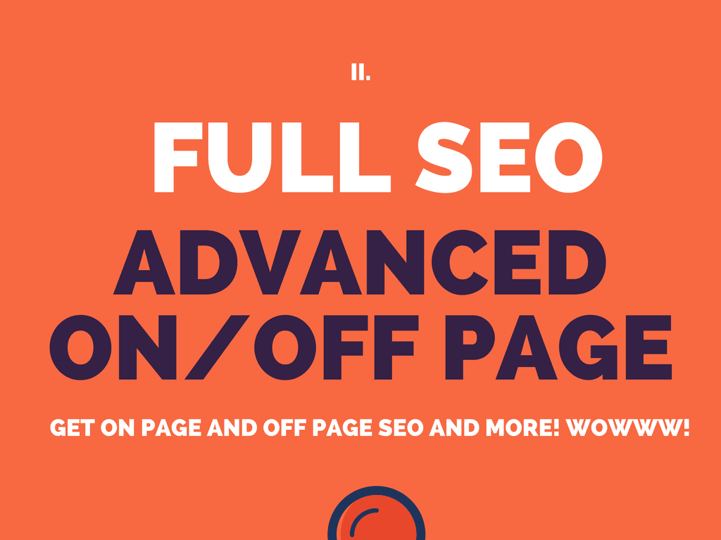 full SEO of your website