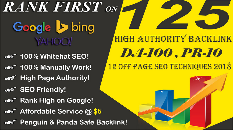 rank your website first in google with whitehat SEO backlinks