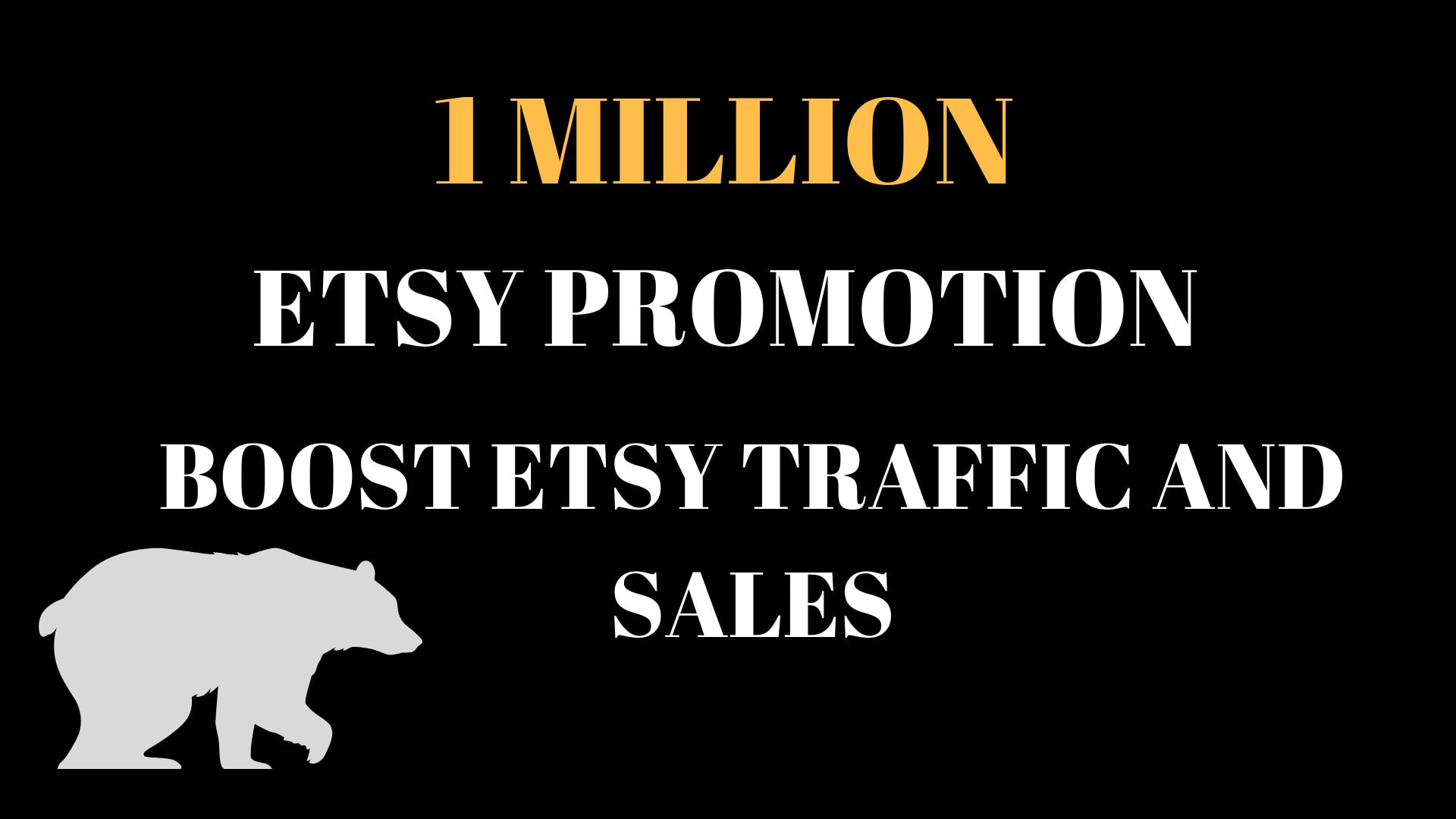 do 1 million seo backlinks for etsy promotion,  boost etsy traffic and sales