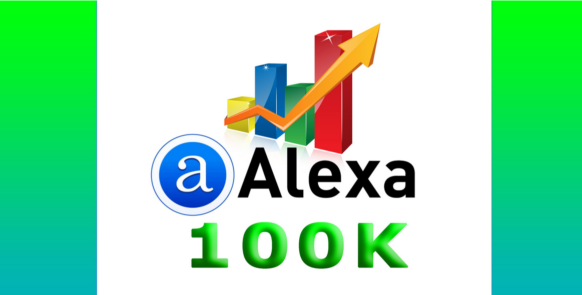 provide traffic and SEO to keep alexa rank 100k monthly