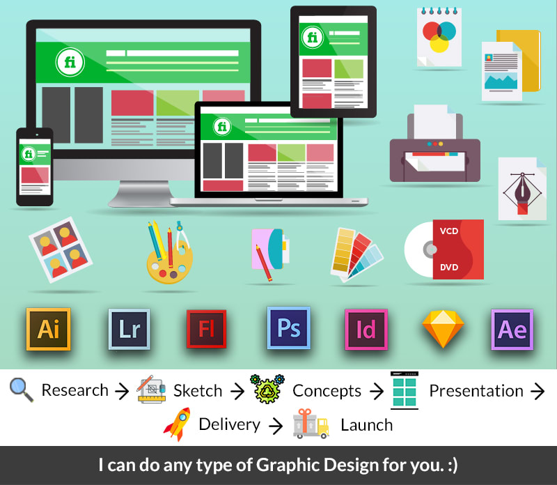 Design Any Type Of Graphic Assets