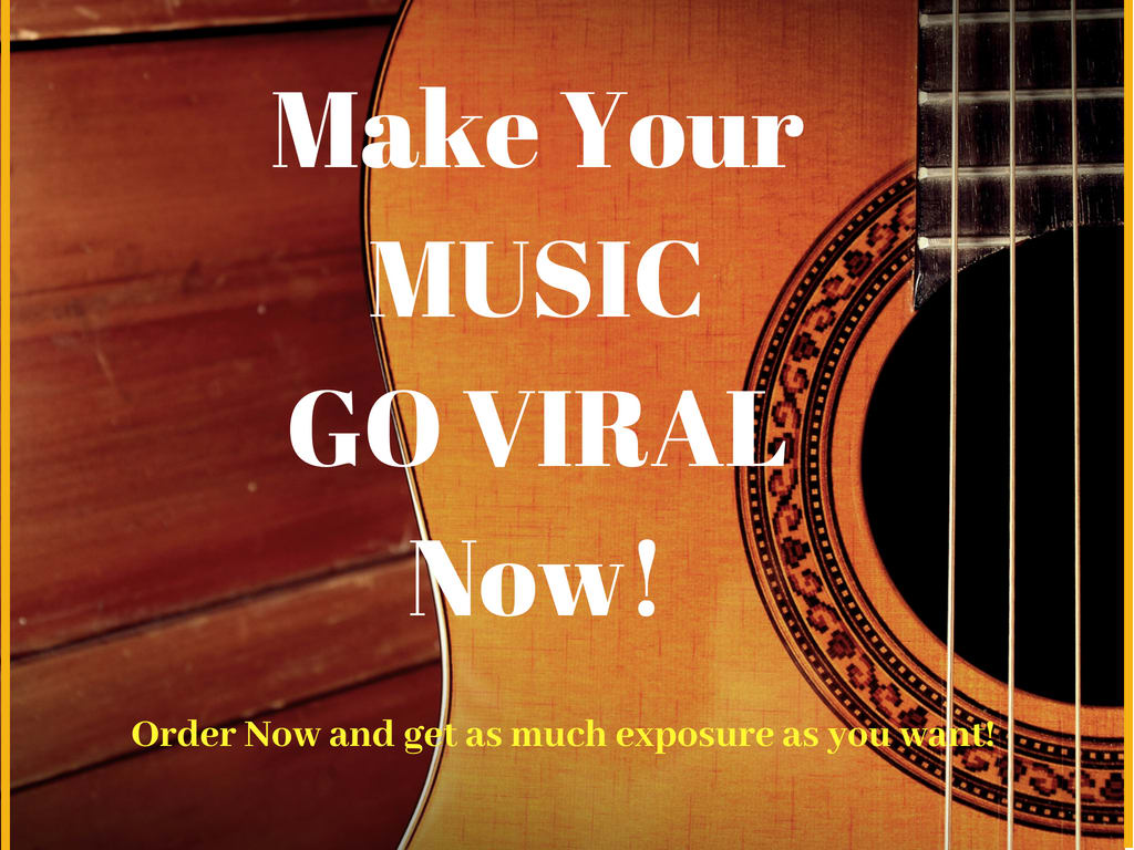 do music promotion and will make your music go viral