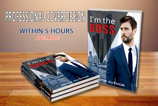 Create Professional Book Cover Design Or Ebook Cover