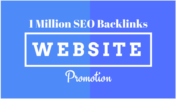 Create 1m SEO backlinks for website promotion, website ranking