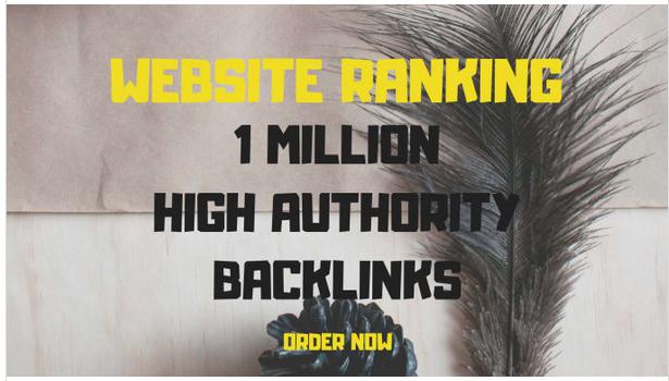 Create 1,000,000 gsa ser backlinks for website ranking
