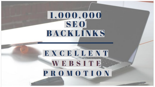 create 1 million high pr SEO backlinks for amazon promotion