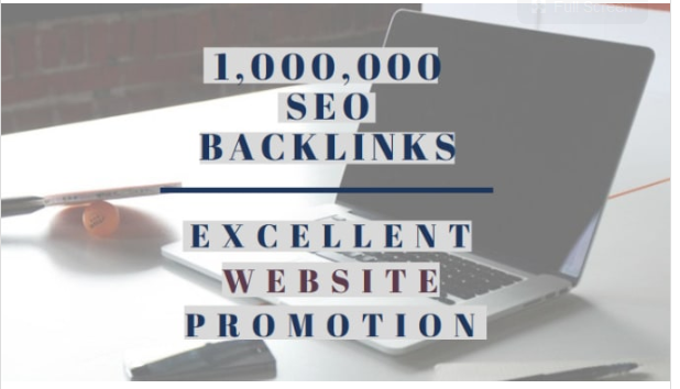 make 1 million backlinks for website SEO and promotion