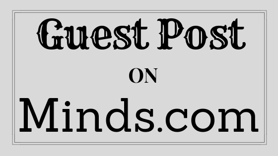 Write and publish guest post Minds. com