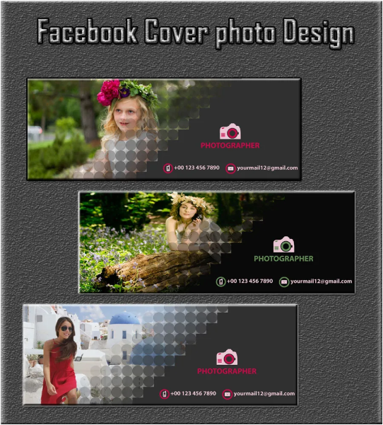 Design Creative Facebook Cover, Banner