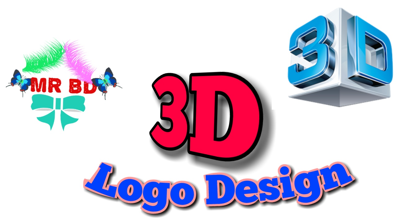 2D,  3D Logo design support GOOGL+