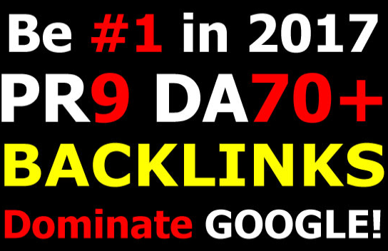 boost your rankings high pr links, high da backlinks for promotion of your site