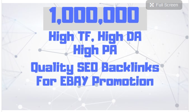 provide you ebay promotion by doing its off page SEO