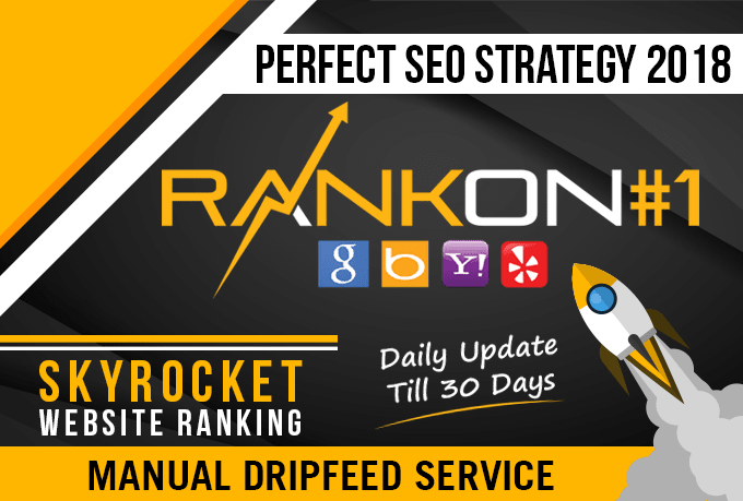 Help To Rank Your Website On Google,  30 Days SEO Backlinks