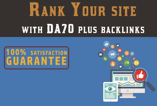 Get 15 contextual article based DA50 to DA90 backlinks