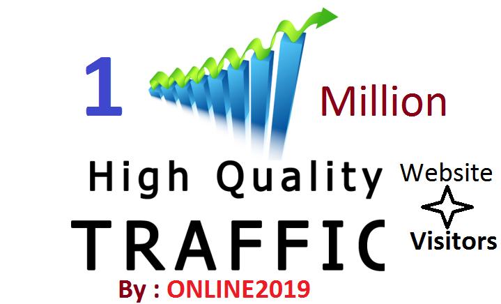 1 Million Worldwide Website Traffic Visitors For Online Marketing & Business Promotion Boost SEO Website Traffic & Share Bookmarks Improve Google Ranking Factors
