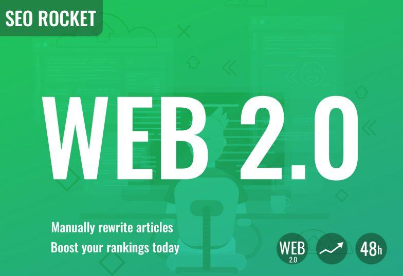 Create20 Web 2,0 ,Contextual Backlinks,edu links For SEO