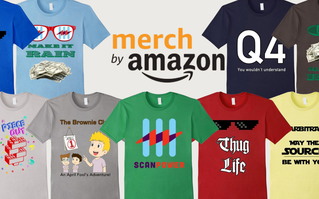 We Make 2 High Quality T-Shirt Designs For amazon By Merch