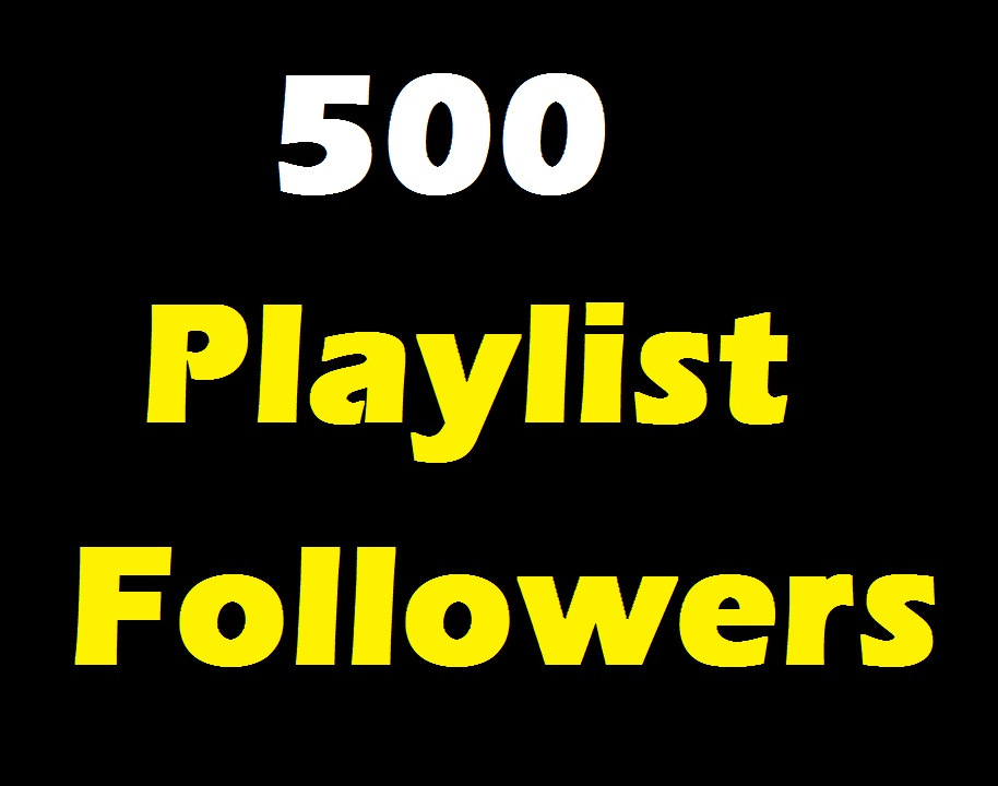 Add 500 Profile And Playlist Artist followers