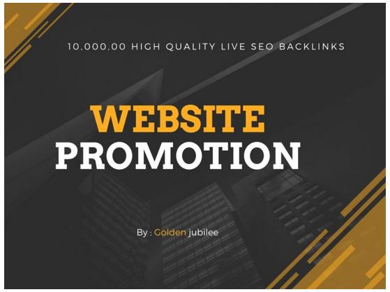 provide high quality SEO backlinks for website promotion