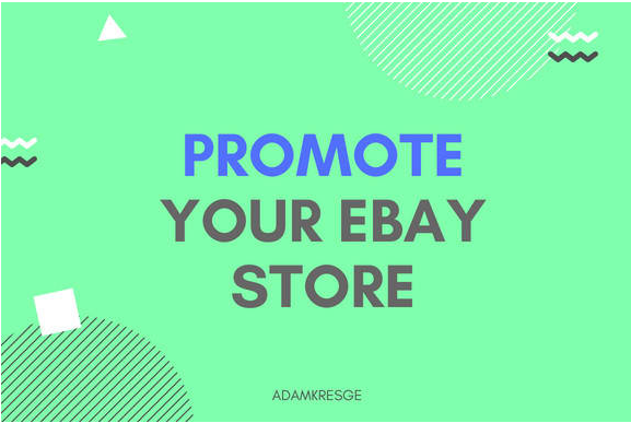 Promote your ebay store, ebay listing