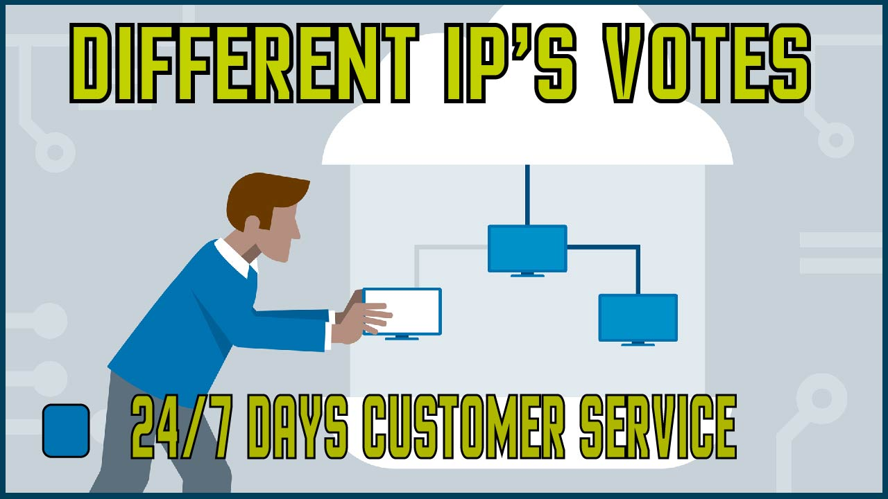 Provide you 105 USA different ip contest vote