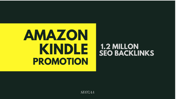 Make 1,200,000 backlinks for amazon kindle promotion