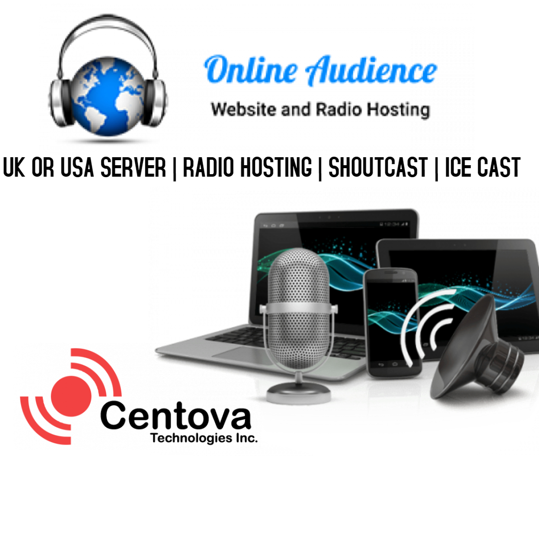 SHOUTCAST RADIO SERVER 1 YEAR