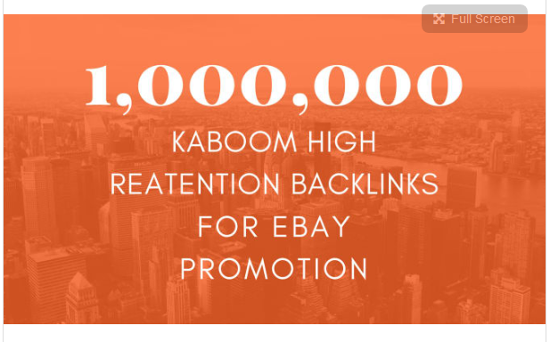 give you ebay promotion to boost ebay traffic and sales