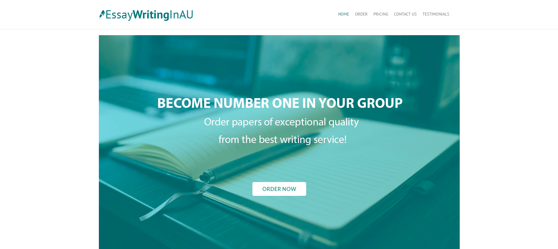 EssayWritingInAU. com &ndash the best service for Aus...
