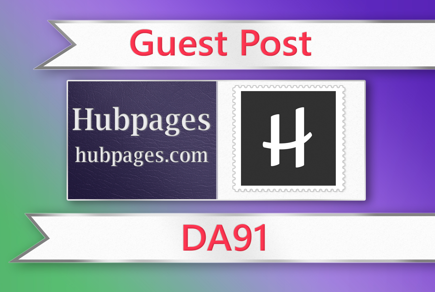 Publish Quality article on HubPages With DA 91 PA 88