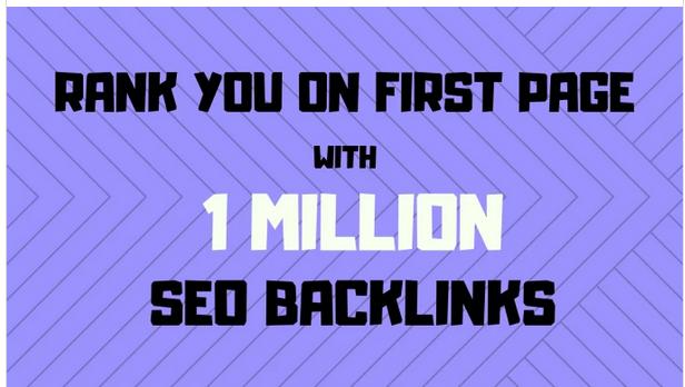 Make your amazon SEO 1,000,000 gsa offpage backlinks