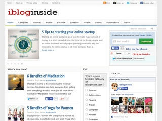 ibloginside - Anything to everything Sponsored Blog Review