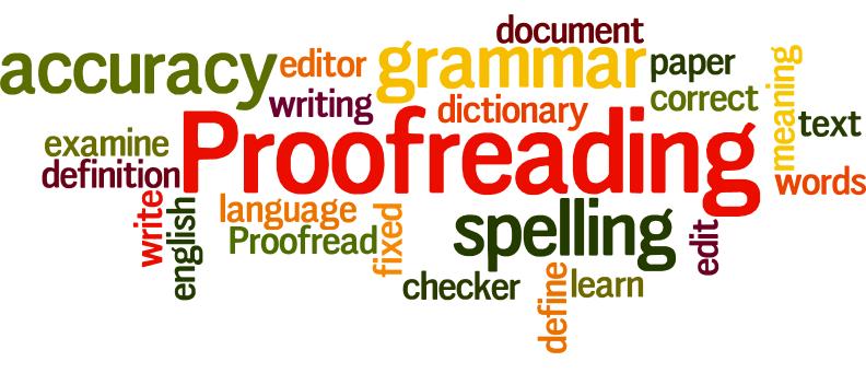 I am Professional Proofreader
