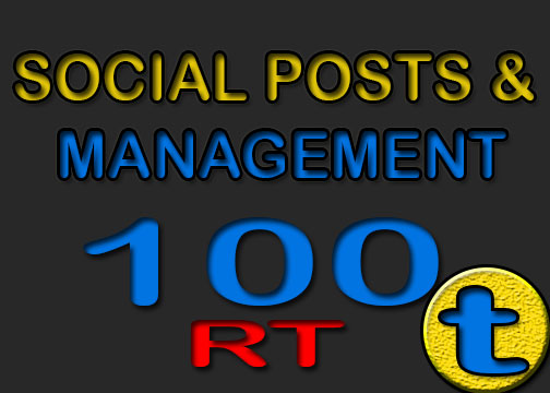 management of your social POST TW
