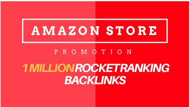 1,000,000 do follow amazon backlink for amazon store ranking