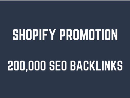 Help you rank higher on shopify by 200,000 GSA SEO backlinks