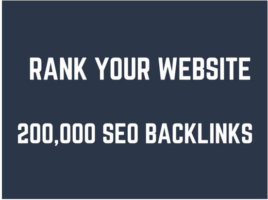 Rank your website by 200,000 GSA SEO backlinks