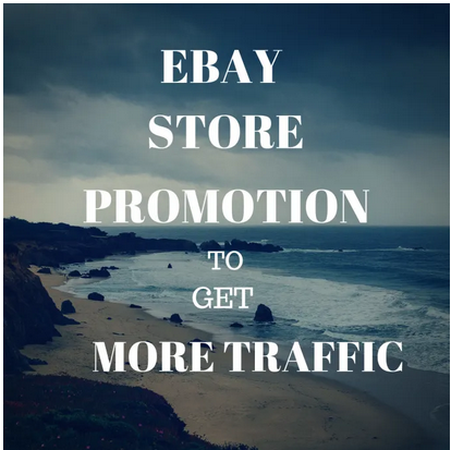 Create 1 million SEO backlinks for ebay promotion to get you more traffic