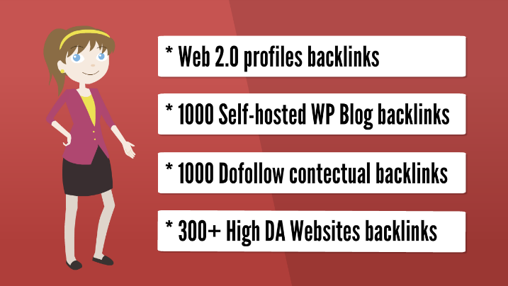 Get you 2,000 web 2.0 HQ backlinks