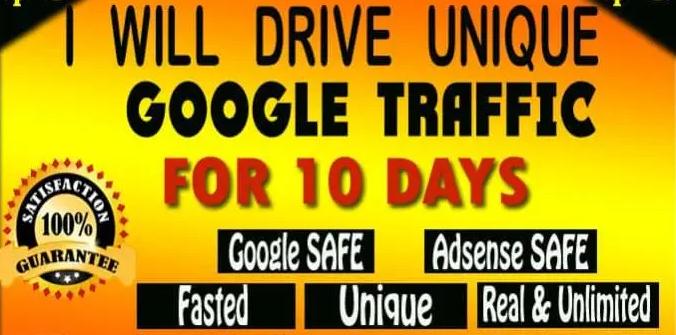 Drive Verified Google Friendly Web Traffic