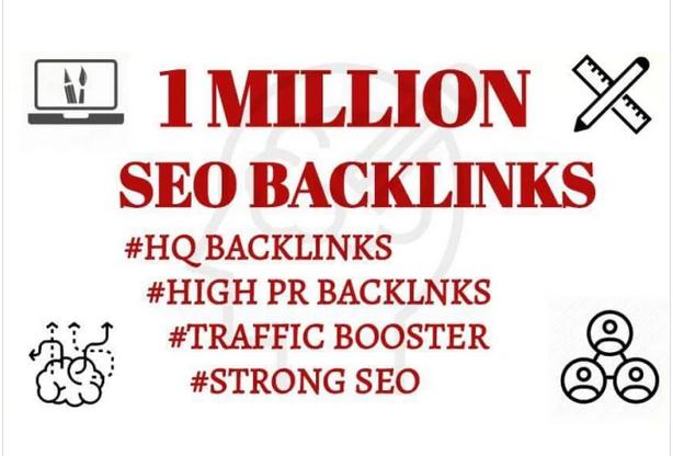 provide 1million High Quality dofollow gsa backlinks for seo ranking