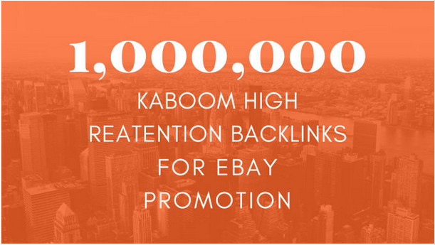 Give you ebay promotion to boost ebay sales and sales