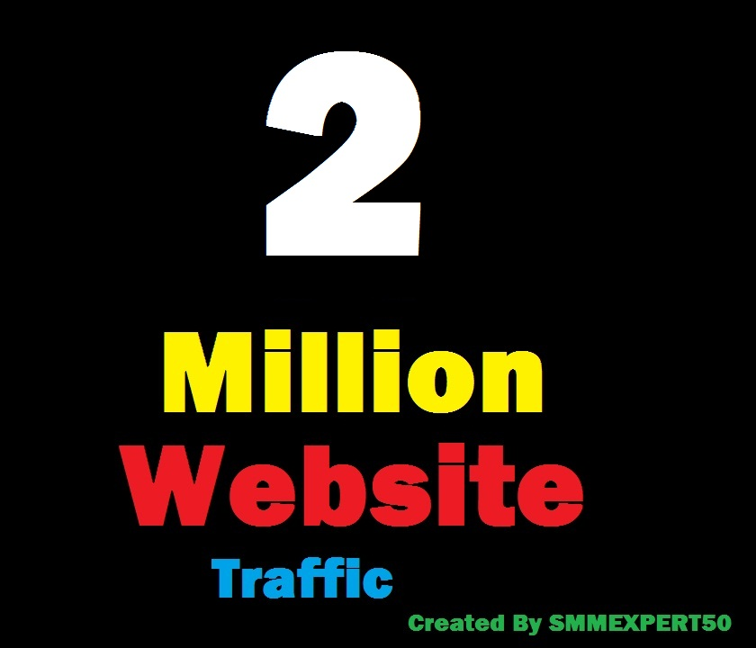 2 Million Worldwide site Traffic Visitors For Online ...