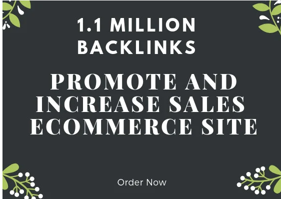 Promote and maximize sales of your ecommerce site