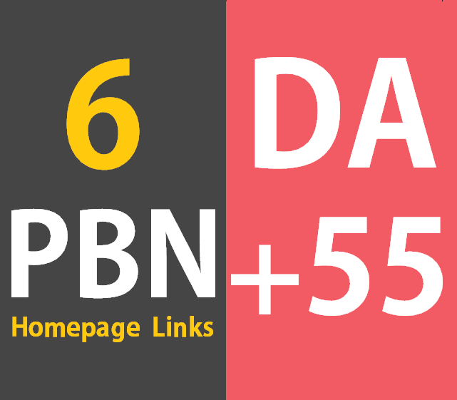 6 Permanent Homepage PBN Links Manual HIGH DA PA 60 Dofollow