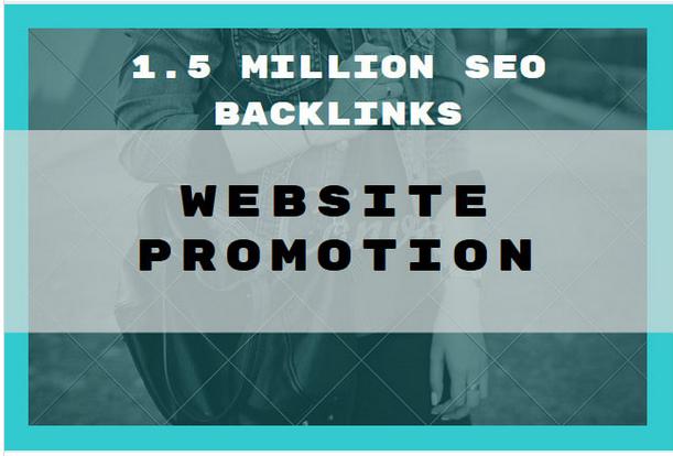 1,500,000 GSA,  SER SEO backlinks for website promotion