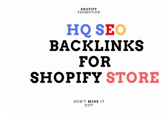 Boost shopify store SEO with high da GSA backlinks