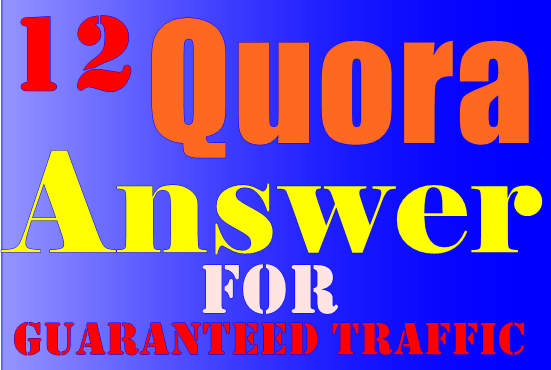 12 Guaranteed Quora Answer For ranking Your Website a...